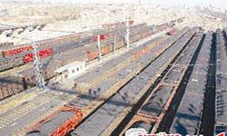 铁路抢运电煤