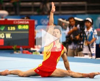 杨威,全能,奥运,夺金