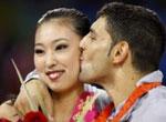 奥运图片精选集:十大亲吻