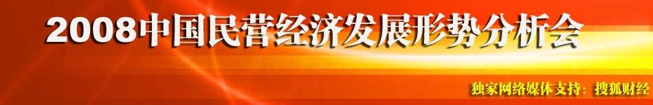 2008年中国民营经济发展形势分析会,搜狐财经