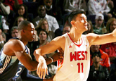 NBA全明星赛:姚明VS霍华德
