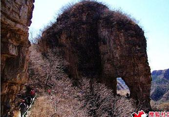 自驾平谷老象峰 爬山赏花两不误