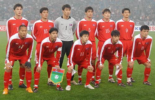 朝鲜足球入围世界杯