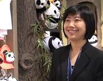 香港海洋公园市务总监李玲凤小姐