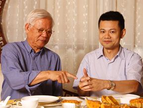 张文基,富周刊,富哥饭局,月饼