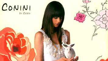 香港品牌Conini第一本春夏服裝画册