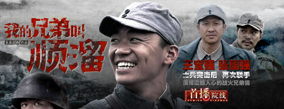 《我的兄弟叫顺溜》,王宝强,张国强,郝蕾,电视剧,战争剧,在线看